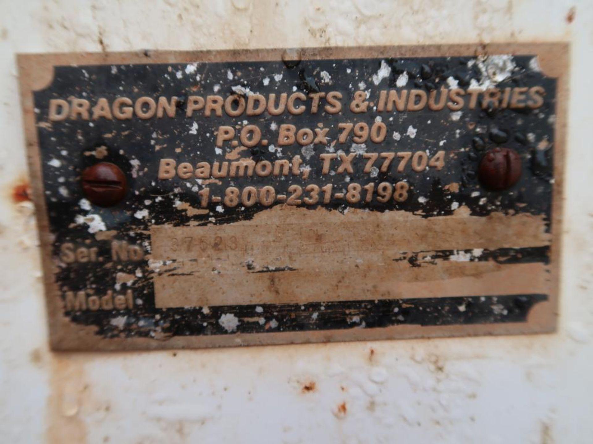 Lot 55 - Dragon Vacuum Trailer (AS IS), 130 BBL, ID # 37523, Unit VT18