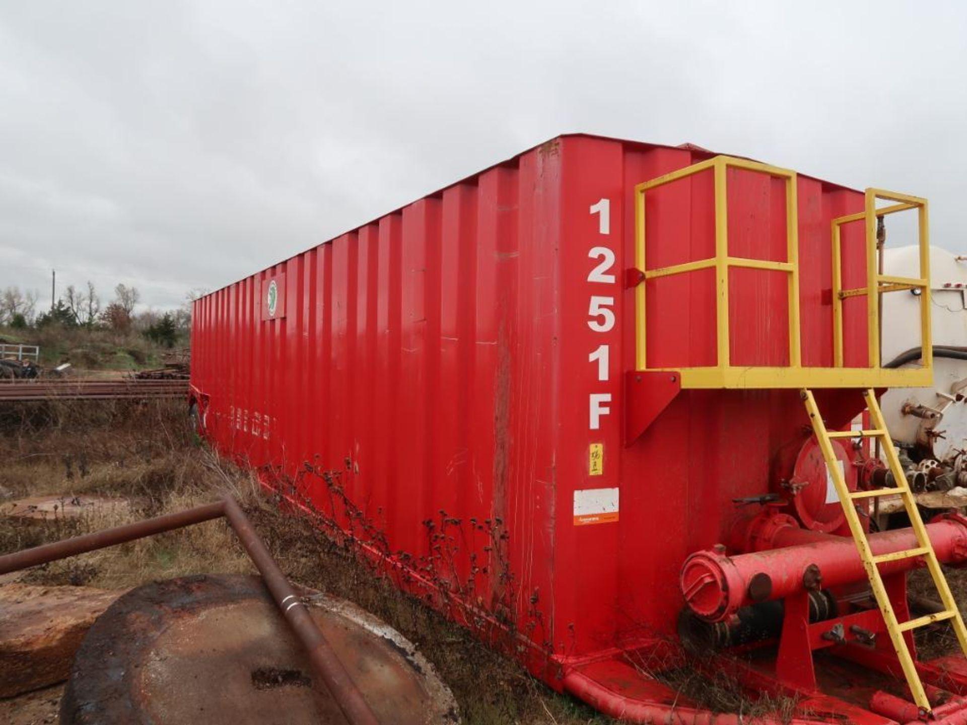 Lot 56A - Frac Tank 1271F (Note: Tank is Full), Unit #1251F. 2012 ARIFR FRAC TANK, VIN: 1A9FT4617CG901049