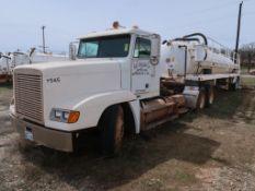 2000 Freightliner Model FLD120, Tandem Axle Tractor, 14.0L L6 Diesel, 10-Speed Trans, VIN: 1FUYDCYB2