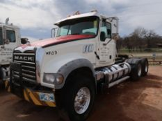 2011 Mack Model GU713 Tandem Axle Tractor, 12.7L LG Diesel, Allison Auto Trans, VIN: 1M1AX09Y5BM0106