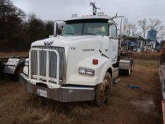 2007 Western Star Model 4900SA, Tandem Axle Tractor, 12.8L LG Diesel, Pump, (AS IS - NOT IN SERVICE)