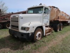 1996 Freightliner Model FLD 120, Tractor, 14.OL L6 Diesel, Trailer Included, 10-Speed Trans,VIN: 1FU