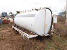LMT Bobtail Tank, MDL 3360, 80 BBL 3360 GAL Capacity, S/N 130925