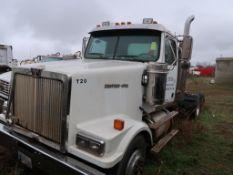 2007 Western Star Tandem Axle Tractor, VIN: 5KJJAECV17PZ14705, (AS IS - NOT IN SERVICE), Unit T-20