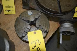 8 in. 4-Jaw Chuck