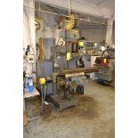Supermax 3 HP Variable Speed CNC Vertical Mill Model YCM-40, S/N 86-08091, 9 in. x 49 in. Work Table