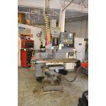 Supermax 3 HP Variable Speed CNC Vertical Mill Model YCM-40, S/N 805030, 9 in. x 49 in. Work Table,