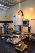 Milltronics CNC Vertical Mill Model RH30, S/N 6620 (2000), 24 in. x 72 in. Work Table, Centurion 6 C
