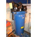Cast Iron Pump 6 HP Reciprocating Vertical Tank Mounted Air Compressor