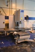 Milltronics CNC Vertical Mill Model RH30, S/N 7909 (2004), 24 in. x 72 in. Work Table, Centurion 7 C