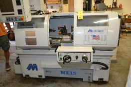 Milltronics CNC Lathe Model ML15, S/N 7910 (2004), 4-Position Tool Post with 8-Position Straight Too