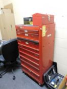 9-Drawer Tool Chest with (2) Tool Boxes