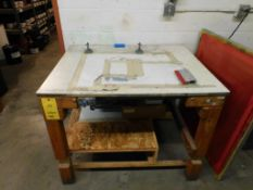 45 in. x 36 in. x 36 in. Vacuum Table