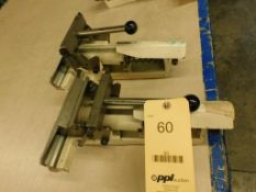 LOT: (2) Screen Stretching Clamps