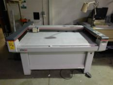 Zund P-1200 Plus Cutting Table, S/N 951800, with Computer