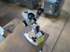 LOT: (2) Microscopes, (2) Magnifying Glasses
