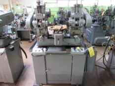 Barker 2-Spindle Horizontal Production Mill Model AMD2, S/N 1627LG, 6 in. x 20 in. Pneumatic Feed Wo