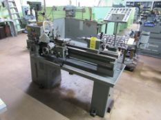 Clausing 12 in. x 36 in. Geared Head Engine Lathe, S/N 506682, Collet with Closer, Carriage with Cro