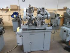 Barker 2-Spindle Horizontal Production Mill Model AMD2, S/N 1662LG, 6 in. x 20 in. Pneumatic Feed Wo