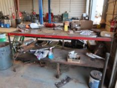 60 in. x 84 in. Steel Work Table