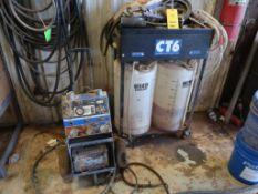 LOT: Blue Point Mobile Universal Trailer Tester Model YA7900AP, CT6 Large Capacity Coolant Transfusi