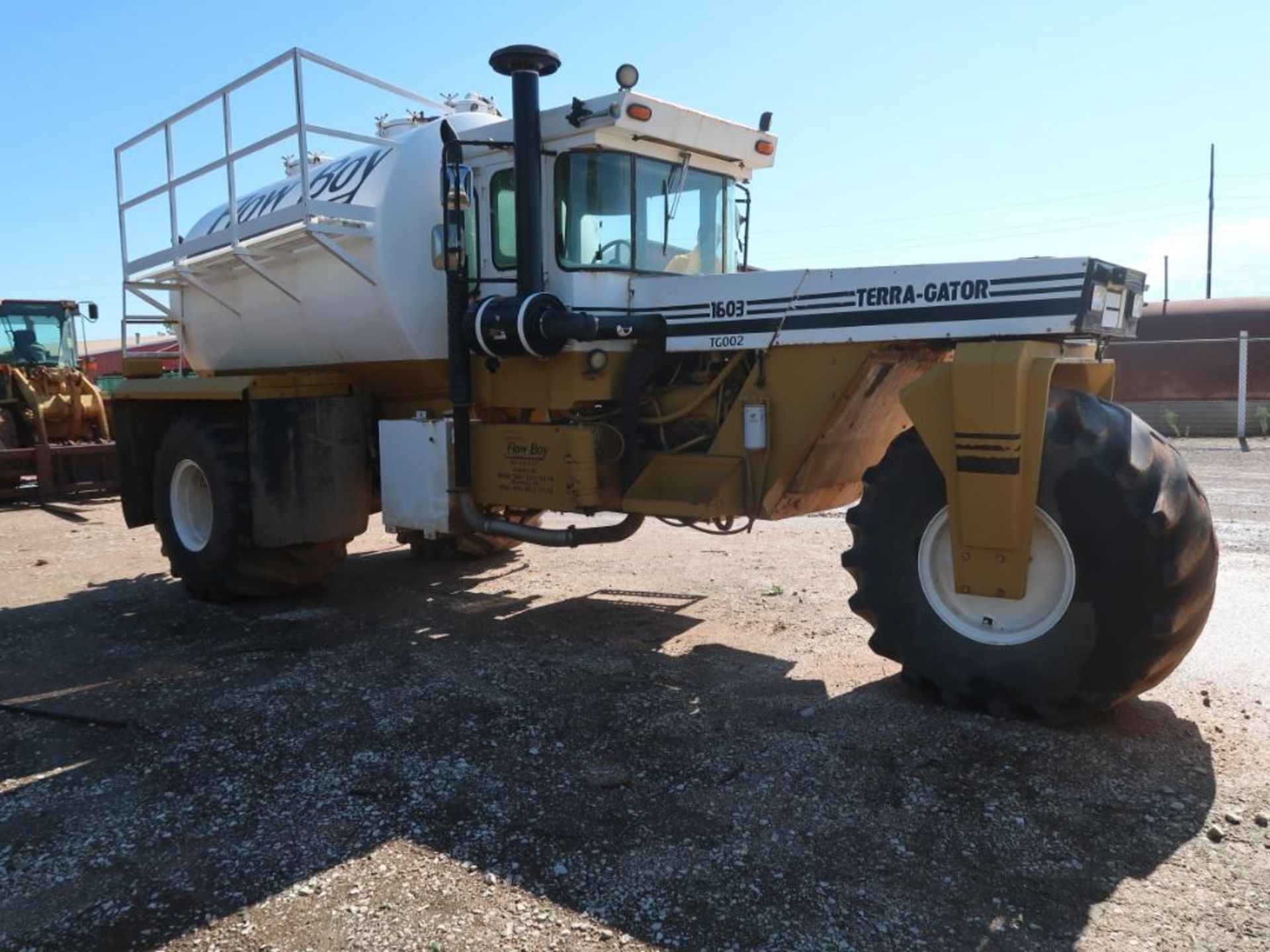 Lot 229 - Ag-Chem Terragator Flow Boy Mud Truck Model 1603, VIN 1610645, Challenger Vacuum Pump, 4550 hours in