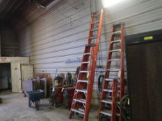 LOT: (1) FG 24 ft. Extension Ladder, (1) FG 8 ft. Ladder