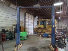 Forward Manufacturing 10,000 lb. Automotive Lift Model DP10A, S/N 143GJ6114
