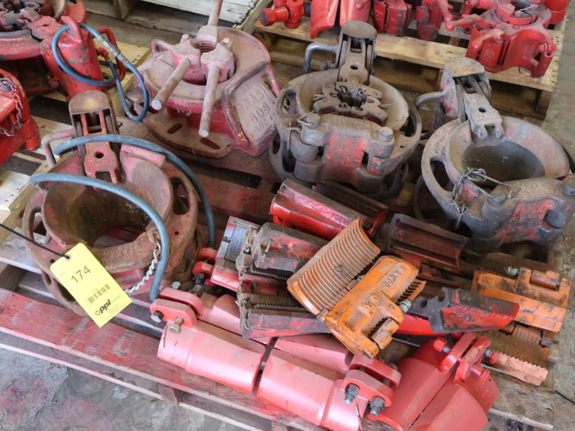 Lot 174 - LOT: (4) Assorted Slips, with Parts