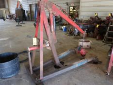 Hydraulic Engine Stand (used with power tong stand)