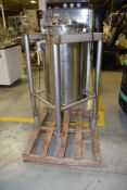 REC Industries Jacketed Tank, Approximate 50 Gallons, Stainless Steel Construction, Vertical, Built