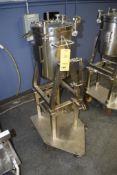 BINDER GMBH Pressure Tank, 30 Liter, Stainless Steel Construction, Built 2005, S/N 4676
