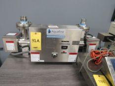 Aquafinte UV Disinfection Unit Model HX02BDS, S/N EAS 11/2019 033MV