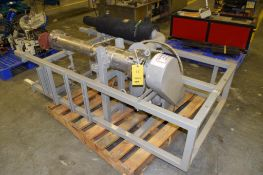 LUWA Thin Film Evaporator Model L, Stainless Steel Construction, Vertical, S/N L-290