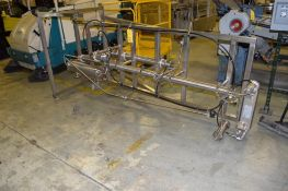 Heat Transfer System Consisting Of: (3) Stainless Steel Construction Shell and Tube Heat Exchangers,