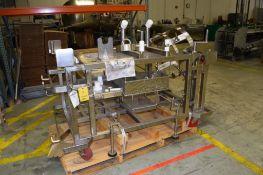 WESTFALIA Portable Centrifuge Setup Cart, Stainless Steel Construction with Bowl Holder