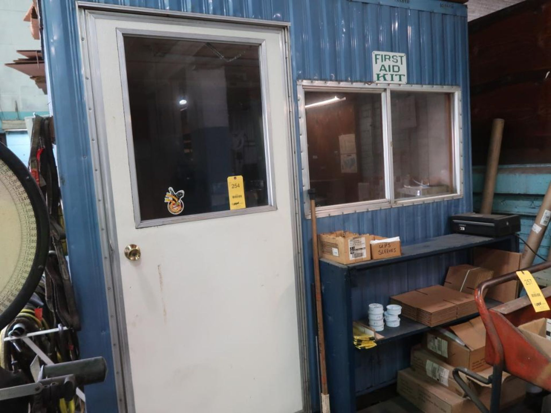 Lot 254 - 8 ft. x 12 ft. (est.) Forkliftable Portable Office
