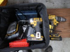 Dewalt Combination Drill, Impact, Charger & Battery