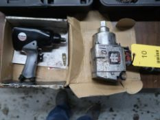 LOT: (1) 1 in. Pneumatic Wrench, (1) 1/2 in. Pneumatic Wrench