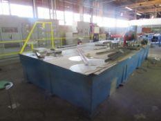 Heavy Duty Steel Welding Table 103 in. x 224 in. (LOCATED IN SOUTH MILWAUKEE, WI)