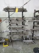 LOT: (3) Racks of Thermo Clamps (LOCATED IN SOUTH MILWAUKEE, WI)
