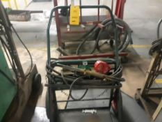 LOT: Cart, Tanks, Torch, Gauges (Green) (LOCATED IN SOUTH MILWAUKEE, WI)