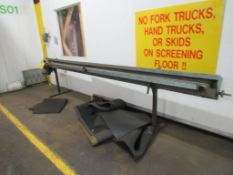 Large Squeegee Belt Sander 13 ft. Long (LOCATED IN SOUTH MILWAUKEE, WI)