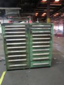 LOT: (2) Vidmar Cabinets w/contents (LOCATED IN SOUTH MILWAUKEE, WI)