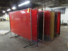 LOT: Large Quantity of Weld Curtains (LOCATED IN SOUTH MILWAUKEE, WI)