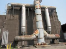 ETA Engineering Navistar Baghouse, 88,000 CFM, 1320 Bags, (2) 150 HP Motors