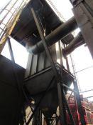 Carborundum Baghouse Model 360-M10, 35,000 CFM, 432 Bags, 100 HP Motor (#9)