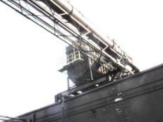 Carborundum Baghouse Model 450-M10, 60,000 CFM, 540 Bags, 150 HP Motor (#10)