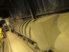 GK Shaker Conveyor, 36 in./48 in. x 100 ft., with Hood