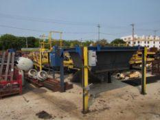 LOT: Lost Foam Molding Line, 2-Way Compaction Table, Fairfield Power Roller 40 ft. (est.) Conveyor L